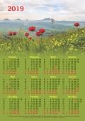 Календарь настенный 2019г.(МаковоеПоле)
