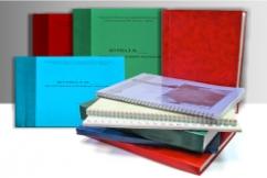 Переплет книг и других изданий в Алматы