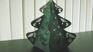 Сувенир ёлка / Бумага